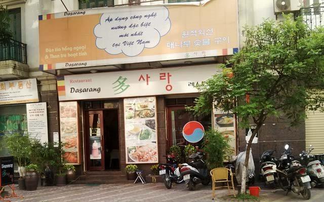 Nhà hàng dasarang hàn quốc
