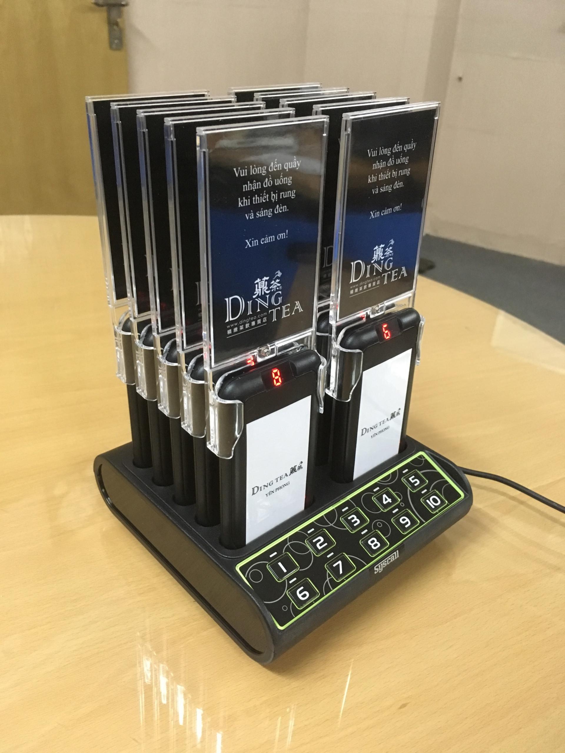 Ecall triển khai thiết bị tự phục vụ cho Dingtea Yên Phong 2