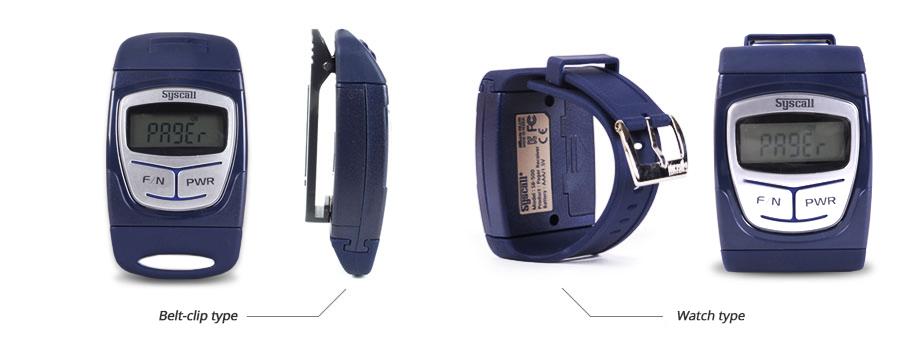Thiết bị báo chuông gọi phục vụ không dây dạng đeo tay SB-500