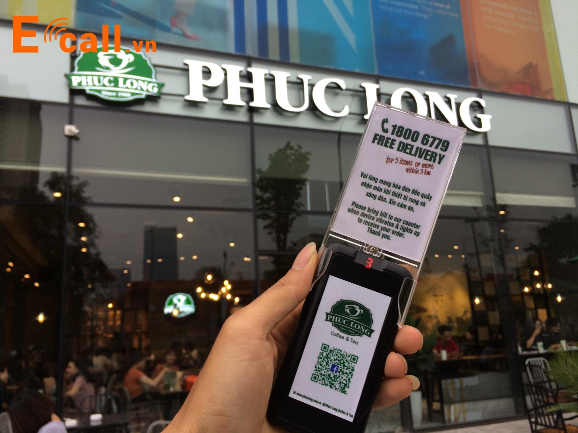 thẻ rung tự phục vụ phúc long tea