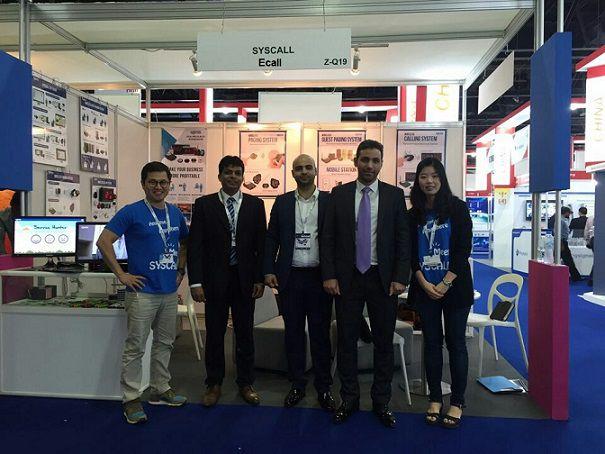 Ecall tham gia hội nghị tại Dubai