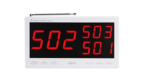 bảng hiện thị SR-330s trắng