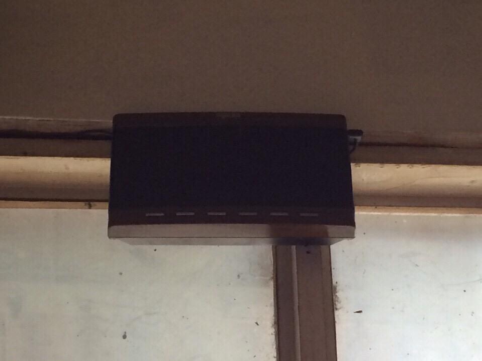 bảng thiết bị hiển thị tại quán ăn nghĩa thúy