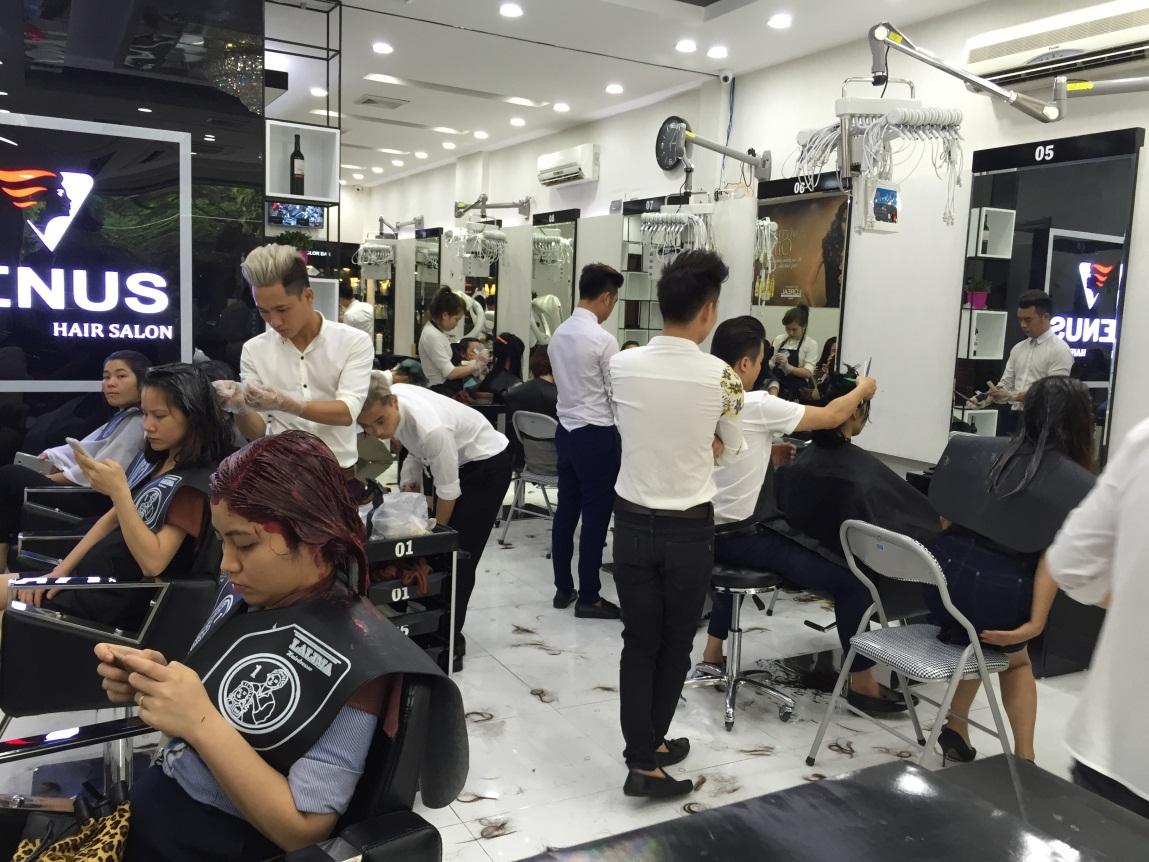 chuông gọi phục vụ không dây giải pháp cho salon tóc