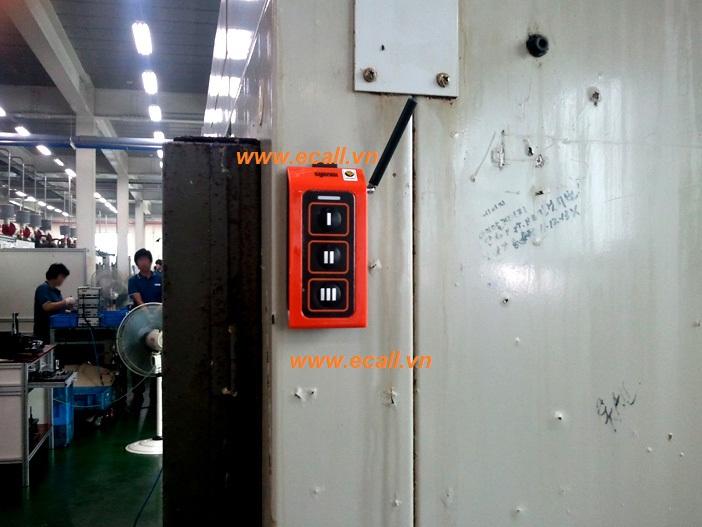 ứng dụng chuông gọi phục vụ nhà máy 12