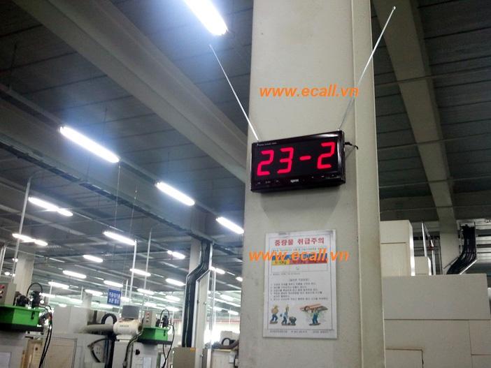 ứng dụng chuông gọi phục vụ nhà máy 13