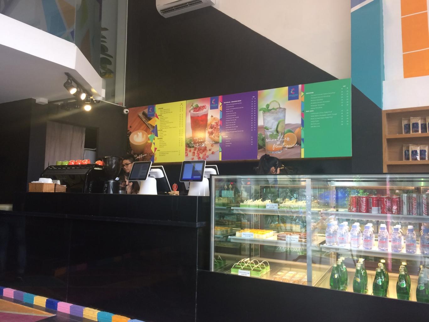 Ecall đã hoàn thiện lắp đặt nút gọi chuông phục vụ ST-200 cho Cityboiz Coffee