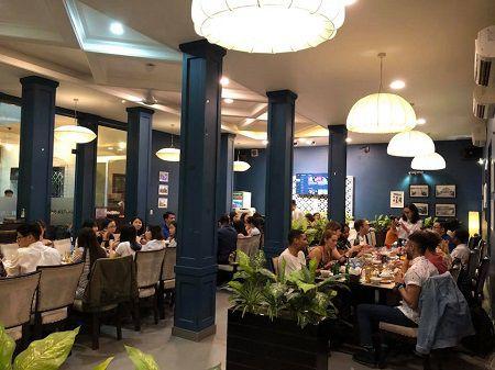 nhà hàng quốc hương lắp đặt chuông gọi phục vụ không dây