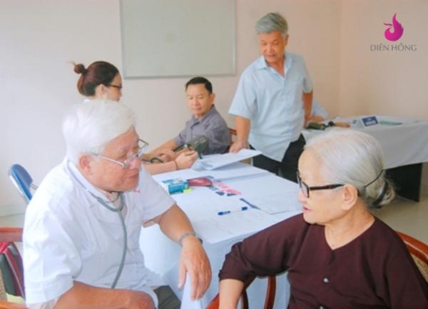 lắp đặt chuông gọi y tá ws-100 cho viện dưỡng lão diên hồng