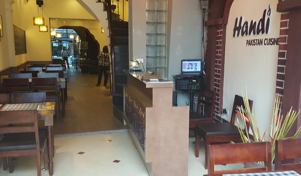 Lắp đặt hệ thống chuông gọi phục vụ không dây cho nhà hàng Handi Pakistan Cuisine