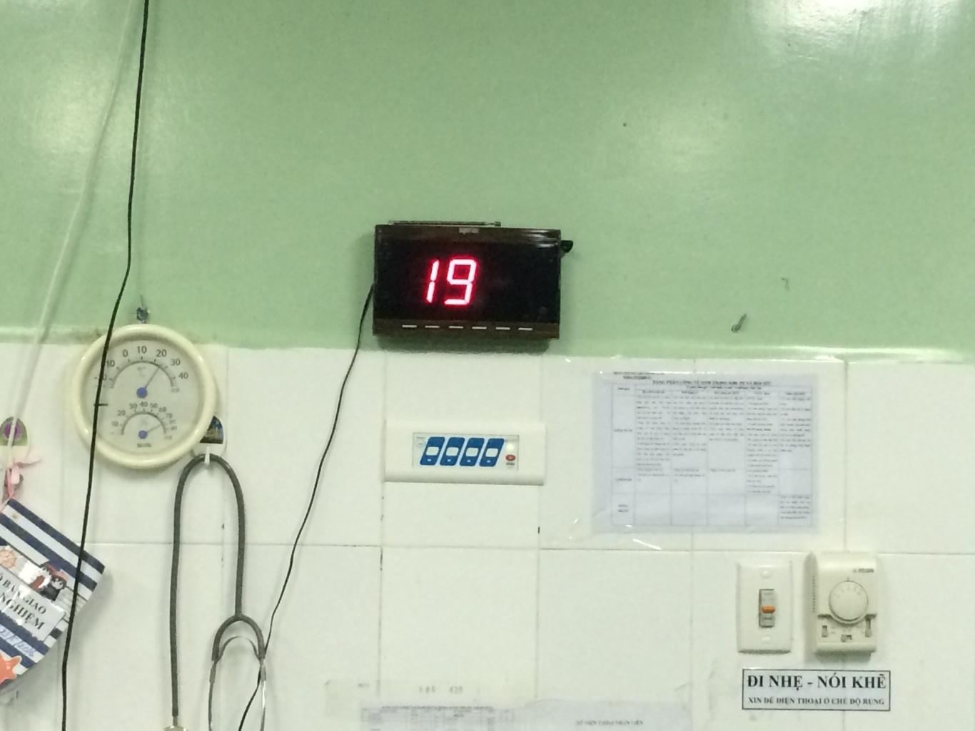 Ecall lắp đặt hệ màn hình hiển thị SR-2003 tại bệnh viện Phụ sản – Nhi Đà Nẵng