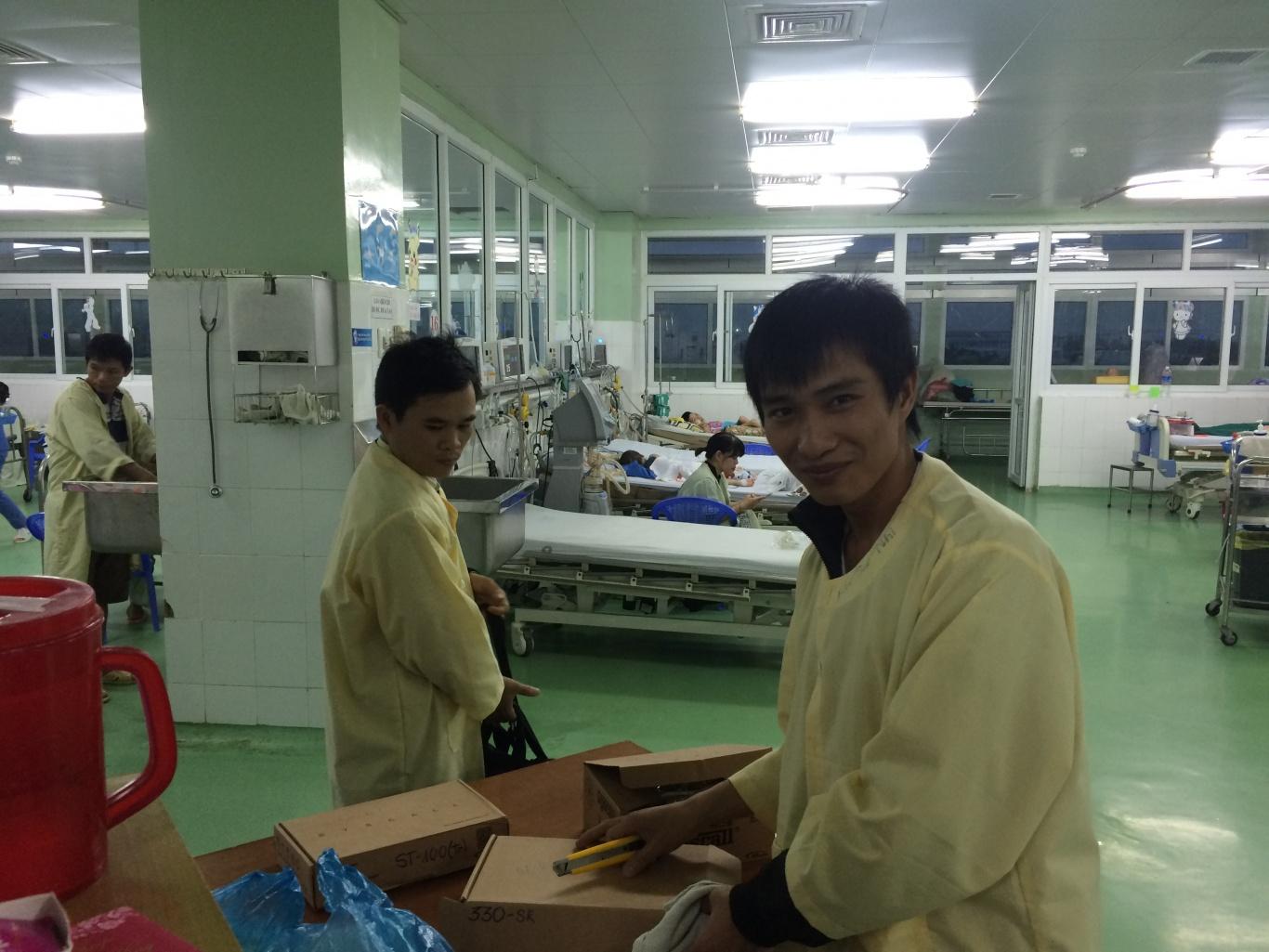 Dự án lắp đặt hệ thống chuông gọi y tá không dây tại BV phụ sản -nhi Đà Nẵng
