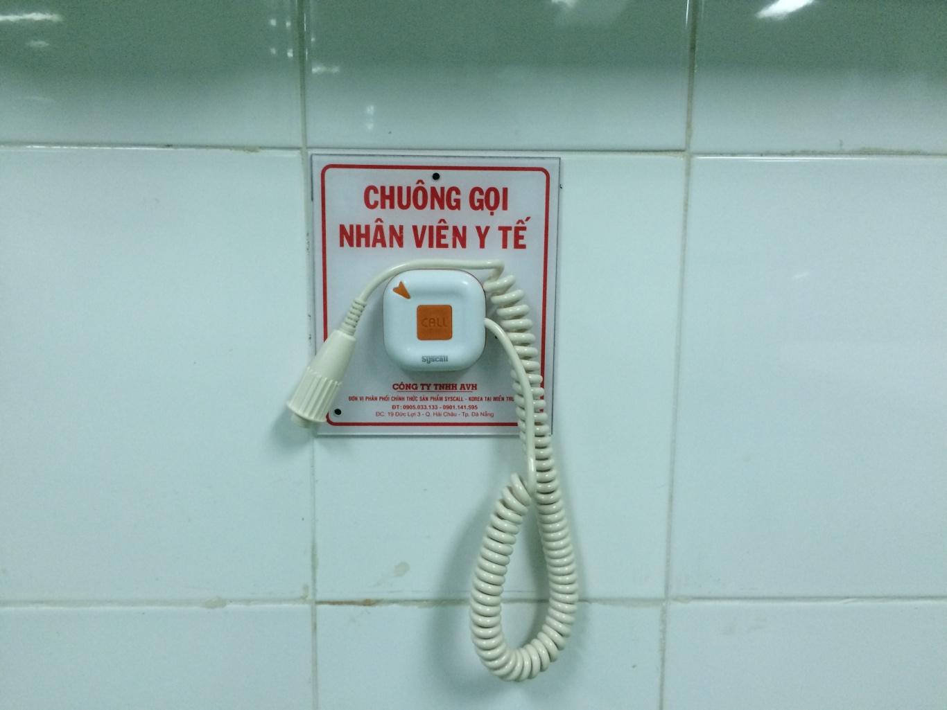 Hệ thống gọi y tá tại một bệnh viện