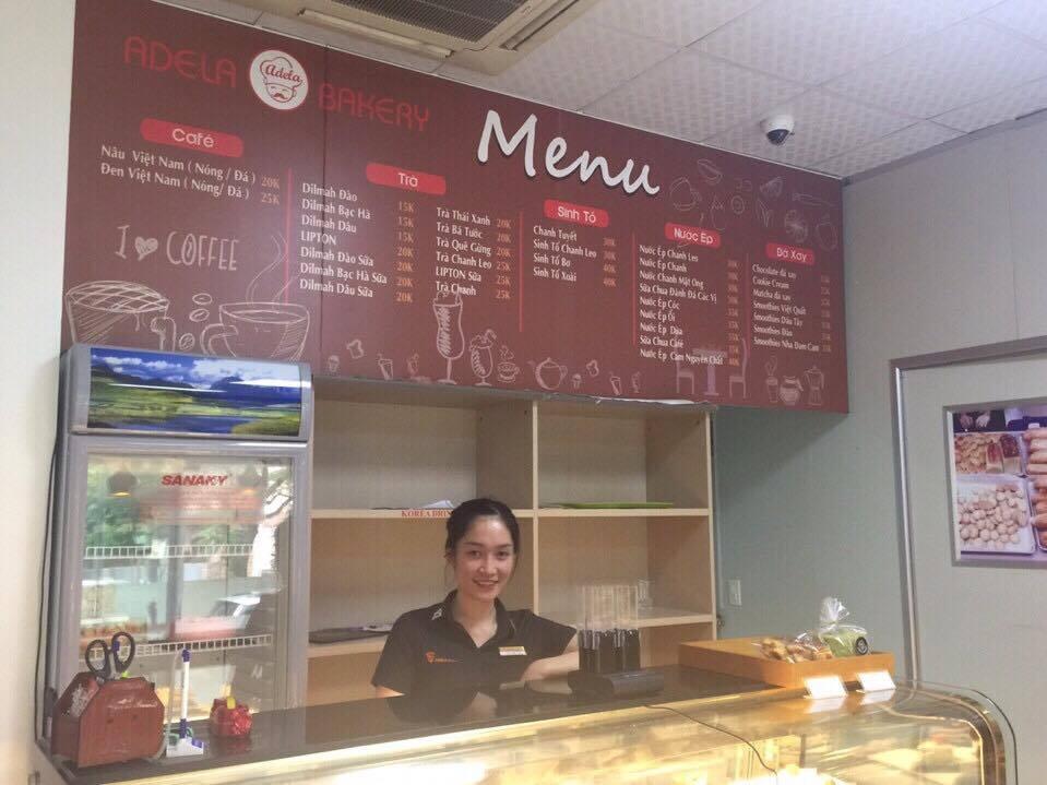 Thiết bị tự phục vụ GP-210RT trong Adela Bakery