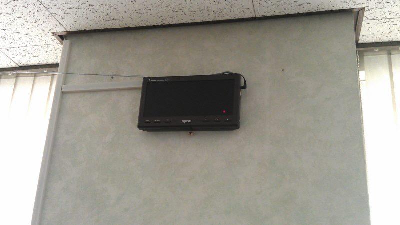 màn hình hiển thị sr-330 lắp đặt tại nhà hàng lẩu hơi