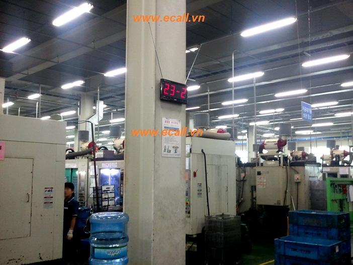 mổ tả hoạt động chuông gọi nhà máy  trên dây truyền sản xuất
