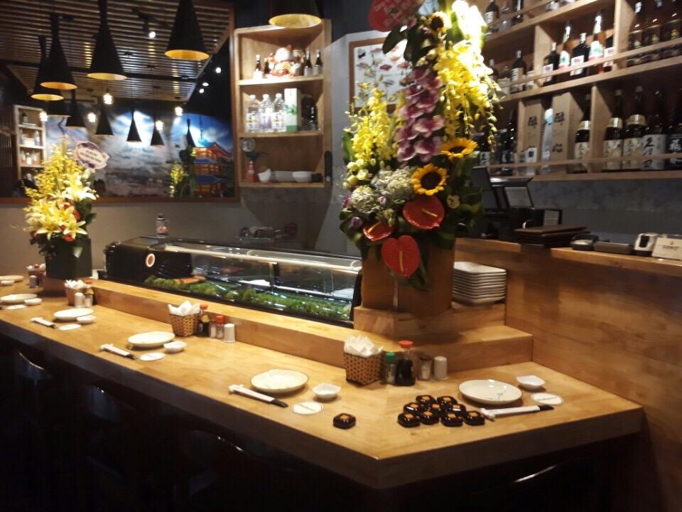 út chuông gọi phục vụ ST-100 tại nhà hàng Saiko