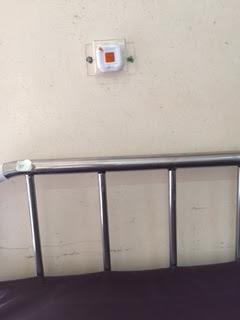 nút chuông gọi y tá ST-1series được lắp đặt tại bệnh viện