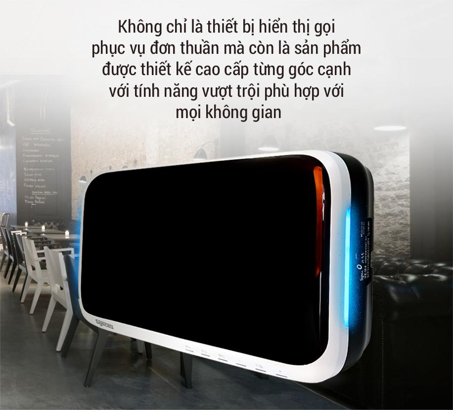 Thiết kế cao cấp của màn hiển thị SR-A2001