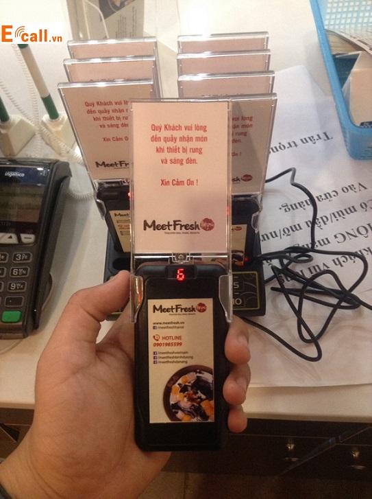 thẻ báo rung cafe