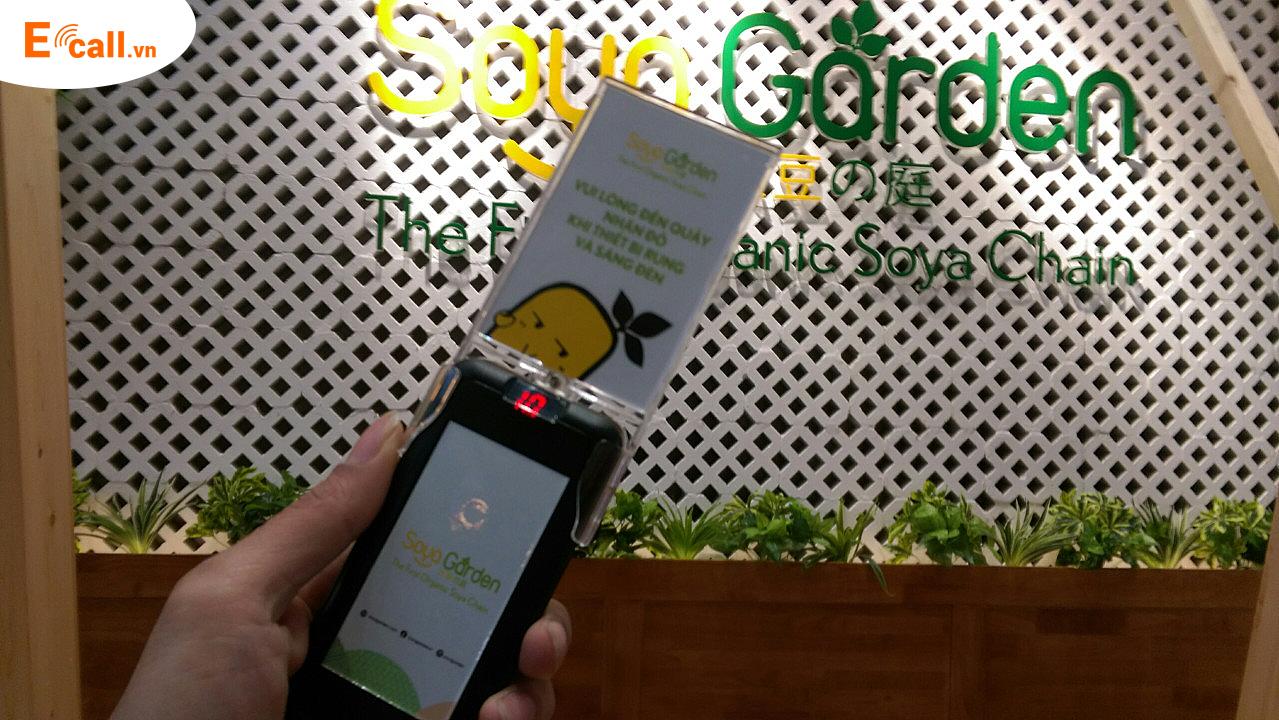 Ecall -thẻ rung tự phục vụ triển khai tại soyal garden