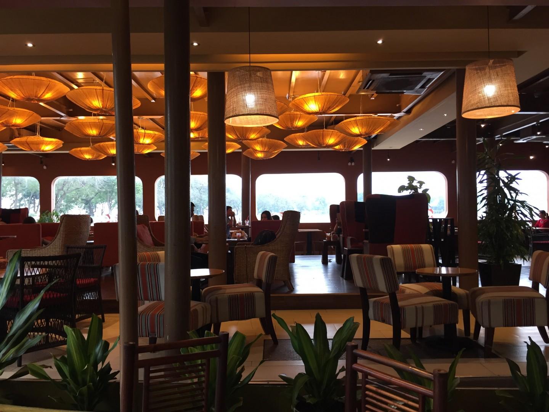 Ảnh dự án lắp đặt thiết bị tự phục vụ ở quán Highlands Coffee hồ Trúc Bạch