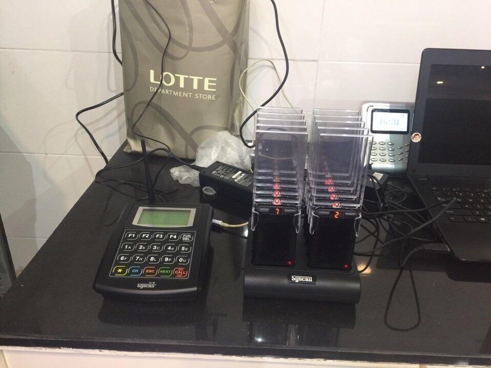 thiết bị tự phục vụ ST5010 được lắp đặt tại lotter