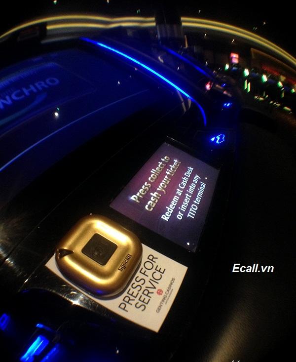 ứng dụng chuông gọi phục vụ cho Casino -2